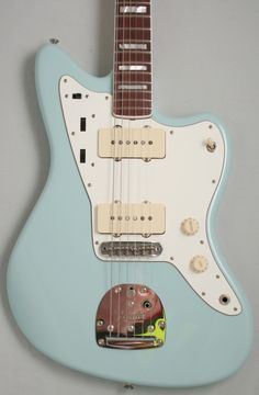 Fender Custom Shop Dennis Galuszka Masterbuilt Jazzmaster (Sonic Blue) - This Jazzmaster Masterbuilt is a one-off from The Fender Custom Shop crafted by Master Builder Dennis Gaulszka. Dennis took the design of a '70s Jazzmaster and built a guitar that didn't exist but he felt should have.