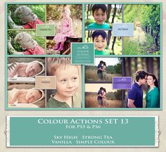 ATp. Color Actions SET 13 by AllThingsPrecious.deviantart.com on @DeviantArt