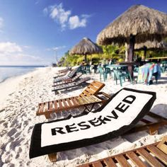 Beach towel - reserved logo