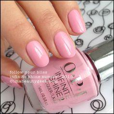 OPI Follow Your Bliss – Infinite Shine Summer 2015