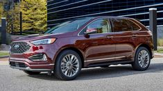 2021 Ford Edge Crossover, New Ford Edge, Ford Sync, Front End Design, Mid Size Sedan, New Mustang, Bronco Sports, Dodge Journey, Grand Caravan