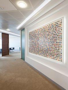 acrylicize art consultant office art art for the office london office artwork designer Lego Office, Lego Portrait, Lego Christmas Village, Lego Minifigure Display, Lego Decorations, Lego Wall, Lego Bedroom, Lego Craft, Office Artwork