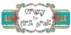 Crazy for First Grade. This Blog Provides Some Great Math Ideas For First Grade.