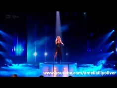 Amelia Lily - The Show Must Go On (Queen) - X Factor Live Show 6 - X Factor 2011 HQ/HD