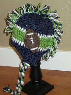 Seahawks mohawk hat