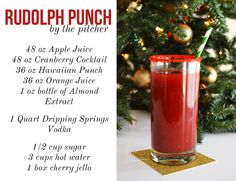 Mimosas in the Morning: Christmas Cocktails + Dripping Springs Vodka.