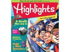 BRMS 7th Grader pens poem for Highlights Magazine.