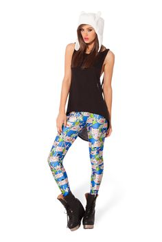 Finn Leggings by Black Milk Clothing $85AUD