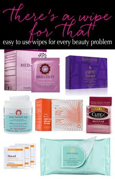 #ad The Fastest Beauty Products EVER! It's so easy to just wipe and go. They're also perfect for travel.  I had no idea some of these existed!