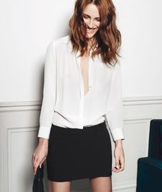 Sencillo y elegante: Vanessa Traina pour Maje - Photographer : Max Farago