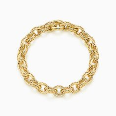 Paloma's Marrakesh link bracelet in 18k gold - Tiffany & Co