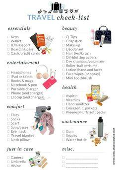 #travel #checklist