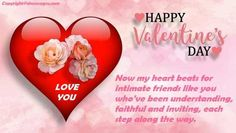 Happy Valentine Day SMS Message for Girlfriend