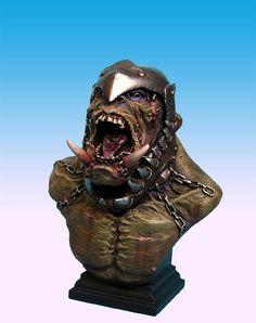 orc bust 2 by sculptart31 on deviantART