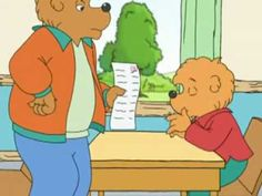 Berenstain Bears: Trouble at School Part1  Habit #3  While out of school for a few days with a cold, Brother Bear ignores his make-up work. And when he returns to class, he discovers the consequences of neglecting his responsibilities: he fails his division test. Grizzly Gramps helps Brother learn that it's never too late to correct a mistake.