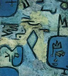 More Paul Klee art. What I like about his work is it reminds me a lot of my oil pastel works.