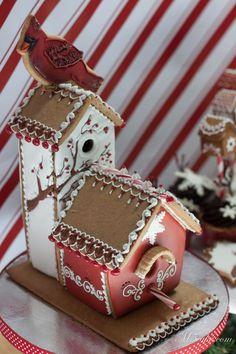 Gingerbread Birdhouse Inspiration Challenge Contest Winner