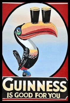 Vintage GUINNESS IS GOOD FOR YOU 250gsm Gloss ART CARD A3 Reproduction Poster by World of Art, http://www.amazon.co.uk/dp/B008K9Z3U0/ref=cm_sw_r_pi_dp_cng.qb0PJ6HYP