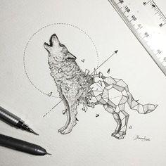 Artist Creates Extraordinary Geometric Animal Illustrations ~ Creative Market Blog