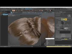 Creating Braids and Buns Using Ornatrix in Maya - Computer Graphics & Digital Art Community for Artist: Job, Tutorial, Art, Concept Art, Portfolio