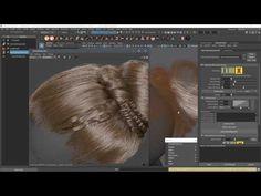 Creating Braids and Buns Using Ornatrix in Maya - Computer Graphics & Digital Art Community for Artist: Job, Tutorial, Art, Concept Art, Portfolio
