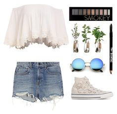 """California Girl"" by wacawaca ❤ liked on Polyvore featuring Alexander Wang, Converse, Forever 21 and Lord & Taylor"