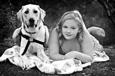 Autism service dogs are amazing and Pawsitive Service Dog Solutions teaches their dogs to stop bolting and do deep pressure therapy amongst other things like alerting to seizures.