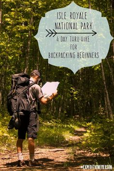 New to backpacking? Find your perfect thru-hike at Isle Royale National Park. This remote island is located in Lake Superior off the coast of Minnesota. Home to over 2,000 moose, Isle Royale is a wonder that every hiker should have on their itinerary or bucket list. The remote location makes Isle Royale the perfect trail for backpacking beginners.