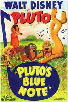 Pluto's blue note – Disney