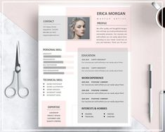 Resume Template Pink Pink CV Template Artistic Resume Template Resume Skilled Template Design Prompt Obtain CV Template Phrase Template Resume Design Template, Creative Resume Templates, Template Cv, Creative Brief Template, Portfolio Design, Portfolio Web, Fashion Portfolio, Conception Cv, Cv Original