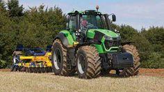 Deutz 9 series tractor  ... #Farming #Tractors #FarmEquipment #Harvesters