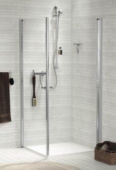 Scanbad Scanbad Duschkabine Karla Eckeinstieg, 2-teilig Bathtub, Bathroom, Shower Cabin, Standing Bath, Washroom, Bath Tub, Bathtubs, Bathrooms, Bath