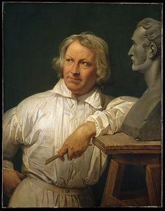 Bertel Thorvaldsen (1768–1844) with the Bust of Horace Vernet Horace Vernet