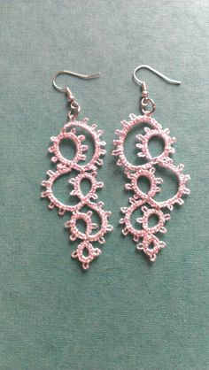 Earrings made