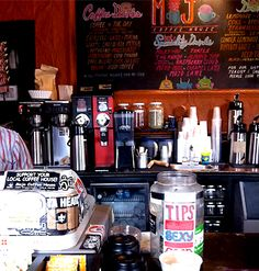 Love Affair: small cafes with cheeky tip jars, free wifi, and awesome people