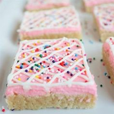 Sugar Cookie Squares.