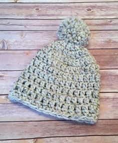 This is such a great and easy pattern for beginners who want something that will work up quickly. The fellas love this hat and it is great for holiday gifts. I have made this with or without the pom pom as well. Supply List: Lion Brand Wool Ease Thick & Quick Yarn (1 skein) Crochet …