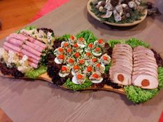 Appetizer Recipes, Appetizers, Food Platters, My Best Recipe, Cobb Salad, Sushi, I Am Awesome, Bacon, Good Food