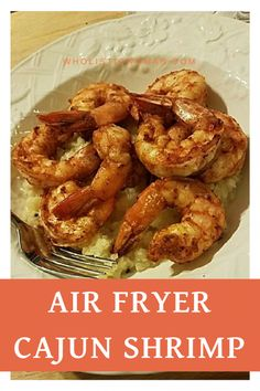 Ill admit when DH first came home with the air fryer I was like ANOTHER appliance? but it DOES make cooking for two very simple. One of my favorite recipes so far is the air fryer cajun shrimp that came in the booklet with the air fryer (the Air Fryer Recipes Potatoes, Air Fryer Oven Recipes, Air Fryer Recipes Shrimp, Air Fryer Recipes Asparagus, Air Fryer Recipes Vegetables, Seafood Recipes, Cooking Recipes, Healthy Recipes, Cooking Bacon