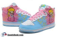 Sneakers - Nike (Princess Peach)