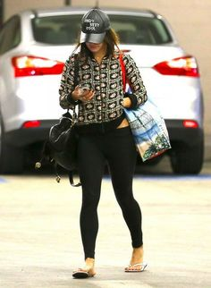 'Gimme Shelter' actress Vanessa Hudgens continues to hide her face in public as she rocks a 'Crazy, Sexy, Cool' hat while grocery shopping a...