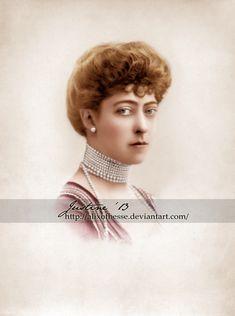 "Princess Victoria ""Toria"" (Victoria Alexandra Olga Mary) (6 Jul 1868-3 Dec 1935) UK by AlixofHesse on DeviantArt. 4th child of King Edward VII (1841-1910) UK & Princess Alexandra (1844-1925) Denmark."