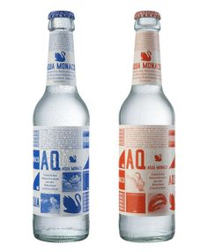 Natural Mineral Water Aqua MonacoDesigned by Schmidt/Thurner/von Keisenberg | Germany