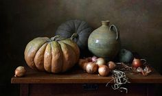 35PHOTO - Елена Татульян - С тыквами и вязанкой лука