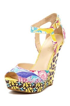I had to do it!! This shoe is heaven! Kaiyra Wedge Sandal by Nine West on @HauteLook #hautelook #ninewest