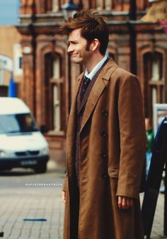 David Tennant as the 10th Doctor in Doctor Who