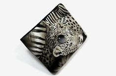 Hand Crafted Tablet Case from Leopard Fabric /Case for iPad Mini, Kindle Fire HD 7, Samsung Galaxy HD 7, Nook HD 7, Google Nexus