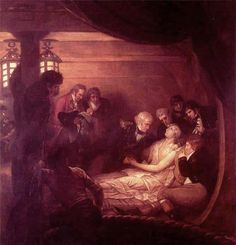 West, Benjamin (b,1738)- Death Of Nelson