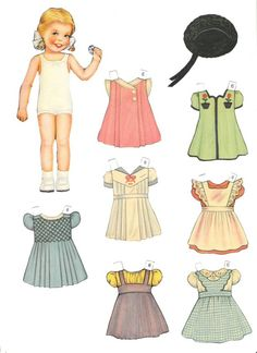 Tots & Togger * 1500 free paper dolls at Arielle Gabriel's The International Paper Doll Society and also free China and Japan paper dolls at The China Adventures of Arielle Gabriel *