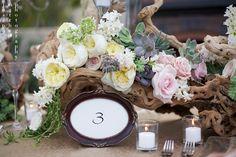 Image detail for - succulent-rustic-vintage-wedding-centerpiece-table-number-frame